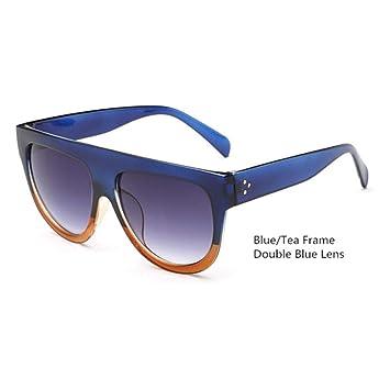 COOLEYE Gafas de Sol Gafas De Sol Vintage Mujer Flat Top ...