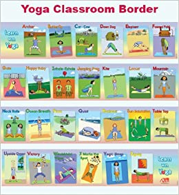 Learn WIth Yoga ABC Yoga Classroom Border: Christine ...
