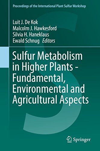 Sulfur Metabolism in Higher Plants - Fundamental, Environmental and Agricultural Aspects (Proceedings of the International Plant Sulfur Workshop) (Botanik-shops)