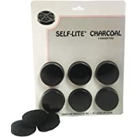 Self Lite Charcoal - Pack of 6 Briquettes