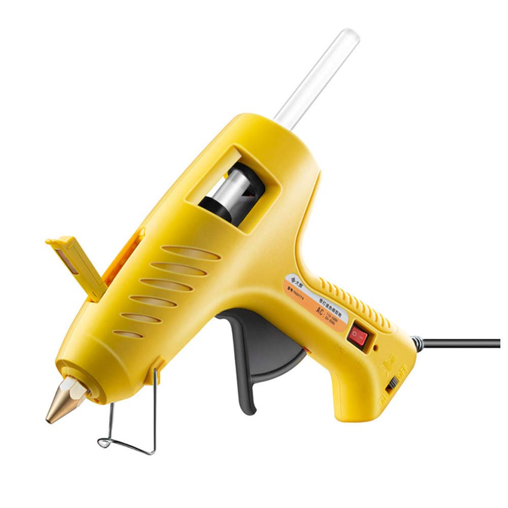 DIY Hot Glue Gun, With LED Light 60/100W Dual Power High Temp Heavy Duty Melt Glue Gun Kit, for Arts & Crafts Use,Christmas Decoration/Gifts, Car and Dent Removal by CONRAL