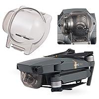Aterox DJI Mavic Pro /Platino Gimbal Lock Protector de la cámara Protector de transporte Cubierta de la lente fija Accesorios (Gris transparente)