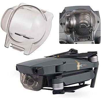 Aterox DJI Mavic Pro / Platinum Gimbal Lock Camera Guard Protector Transport Fixed Lens Cover Accessories (Transparent Gray)