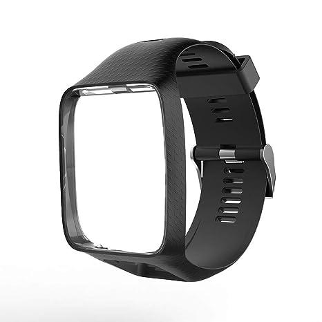 Tomtom - Correa de Repuesto de Silicona para Reloj Tomtom Adventurer/Golfer 2/Runner