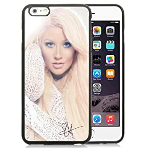 Fashionable And Unique Designed Case For iPhone 6 Plus 5.5 Inch TPU With christina aguilera Phone Case