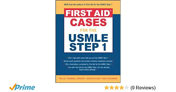 First Aid Cases for the USMLE Step 1 (First Aid Series