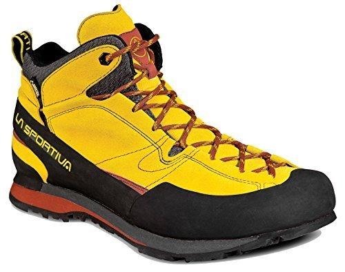 La Sportiva Boulder X Mid GTX Boot - Men's Nugget 44 by La Sportiva