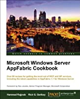 Microsoft Windows Server AppFabric Cookbook Front Cover