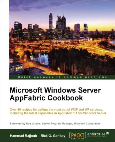 [PDF] Microsoft Windows Server AppFabric Cookbook Free Download | Publisher : Packt Publishing | Category : Computers & Internet | ISBN 10 : 1849684189 | ISBN 13 : 9781849684187