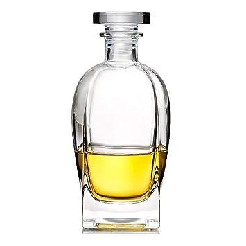 Licorera Decantador De Vino 700ML Vajilla/Cristalería/Jarras, Decantadores Y Garrafas Botella De Vidrio Botella De Vino De Cristal Botella De Whisky: ...