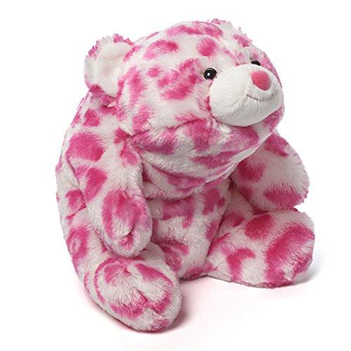 (GUND Baby Snuffles Stuffed Bear, Pink Leopard)