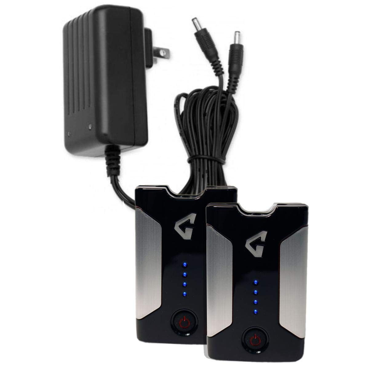 Gerbing Gyde 7V Battery and Dual Charger 3pc Kit by Gerbing