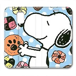 iCustomonline Leather Case for Samsung galaxy S5, Snoopy Ultimate Protection Leather Case for Samsung galaxy S5