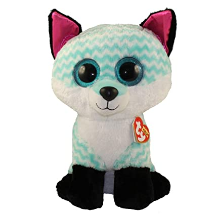 4fad6b1808c Amazon.com  Ty Beanie Boos Piper - Fox Large (Claire s Exclusive)  Toys    Games