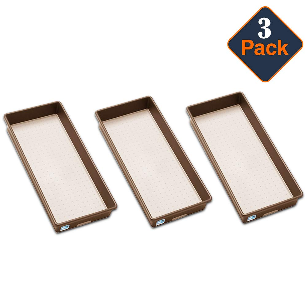 MadeSmart Granite Bin Value Pack -- Set of 3 Bins (15 x 6 x 2 Inches)