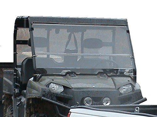 (2009 Thru 2014 Polaris Ranger 800 Clear Front Folding Windshield... A Full 1/4