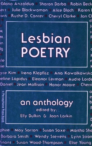 Lesbian Poetry: An Anthology (1981-06-03) by Persephone Press