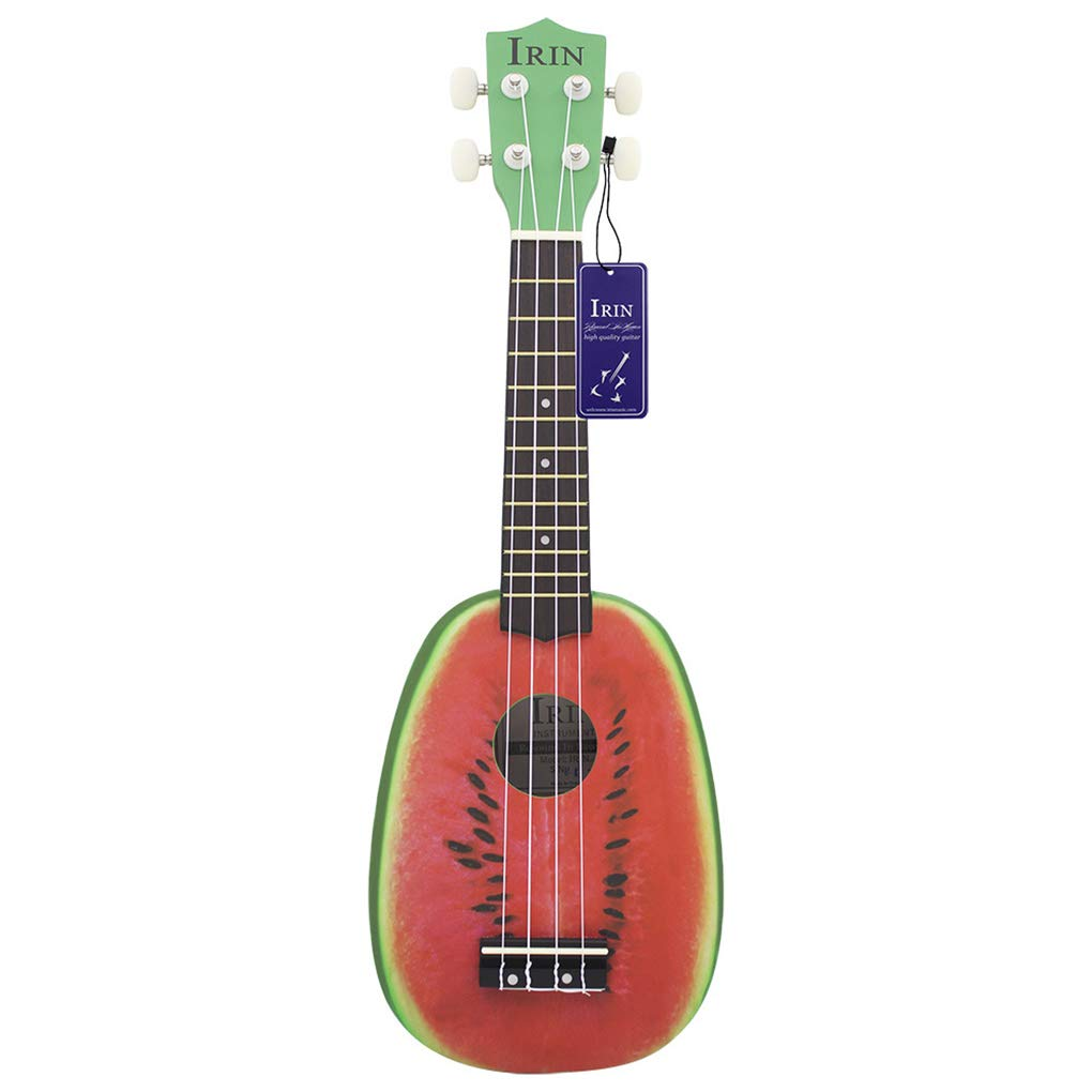 Ben-gi 21 Pollici 12 Fret 4 Corde Basswood Ukulele Chitarra Acustica Soprano Watermelon Style Ukulele Musical Instrument Lover
