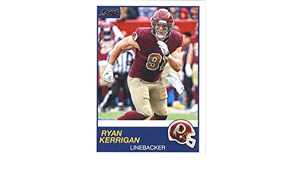 sports shoes d05ab c4667 Amazon.com: 2019 Score Football #202 Ryan Kerrigan ...