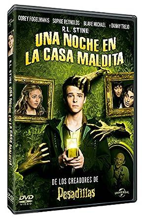 Una Noche En La Casa Maldita [DVD]: Amazon.es: Corey ...