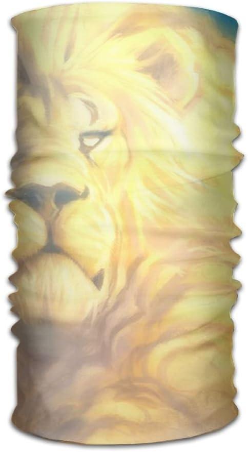 Pengyong - Bufanda de Microfibra para Exteriores, diseño de león ...