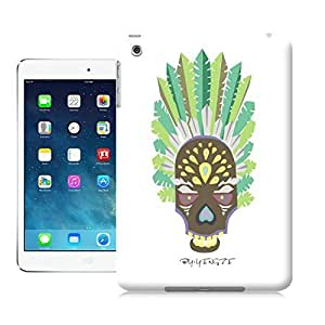 LarryToliver African tribes Animal cartoon figure case battery cover for ipad mini
