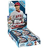 2018 Topps Chrome Baseball Hobby Edition Factory Sealed 24 Pack Box - Baseball Wax Packs