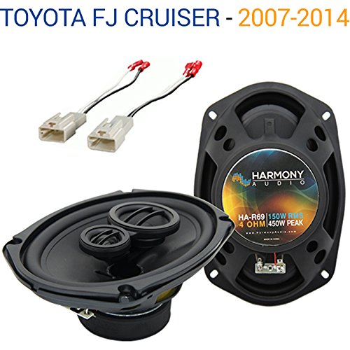 Fits Toyota FJ Cruiser 2007-2014 OEM Speaker Replacement Harmony R69 Package New