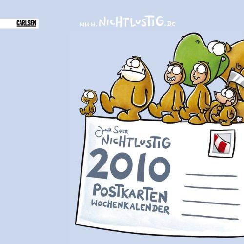 Nichtlustig: Nichtlustig Postkartenkalender 2010