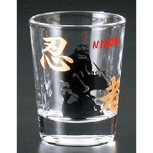Amazon.com | Glass Shot Glass Ninja [50 x 65 mm] Japanese ...