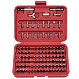 Neiko 10048A Security Bit Set, Chrome Vanadium Steel | 100-Piece Set