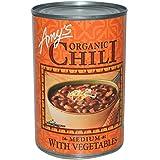 Amy's, Organic Chili, Medium with Vegetables, 14.7 oz (416 g) - 2pcs