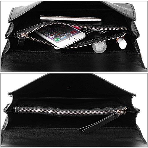 Borse Donna,COOFIT Borse Tracolla in PU Pelle Borse Piccole Borse a Spalla Satchel Bag