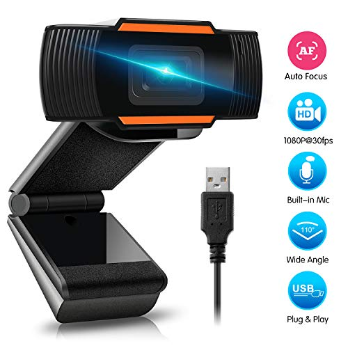 HD 1080P Webcam with