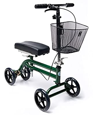 KneeRover Steerable Knee Scooter - Green