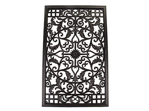 Nuvo Iron RECTANGLE DECORATIVE GATE FENCE INSERT ACW61 Fencing,Fence Gates,Home by Nuvo Iron