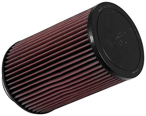 K&N RU-5045 Universal Clamp-On Air Filter: Round Tapered; 4 in (102 mm) Flange ID; 9.5 in (241 mm) Height; 6.75 in (171 mm) Base; 5.875 in (149 mm) Top