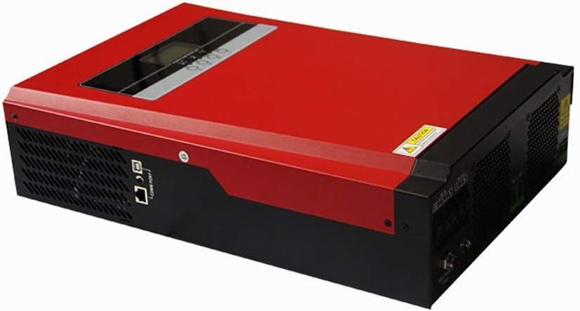 El nuevo 3200W / 5000W Pura Híbrido De Onda Sinusoidal Inversor Solar MPPT 80A Cargador Del Panel Solar Y Cargador De CA Todo En Uno For La Entrada De Max 4000W 500V Solar ( Power : 24v-220v 3200w )