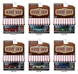 The Hobby Shop Series 5, Set of 6 Cars 1/64 Diecast Models by Greenlight 97050