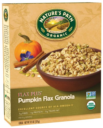 Nature S Path Pumpkin Flax Granola Recipe