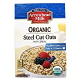 Arrowhead Mills Organic Steel Cut Oats Hot Cereal, 24-Ounce (Pack of 12) For Sale