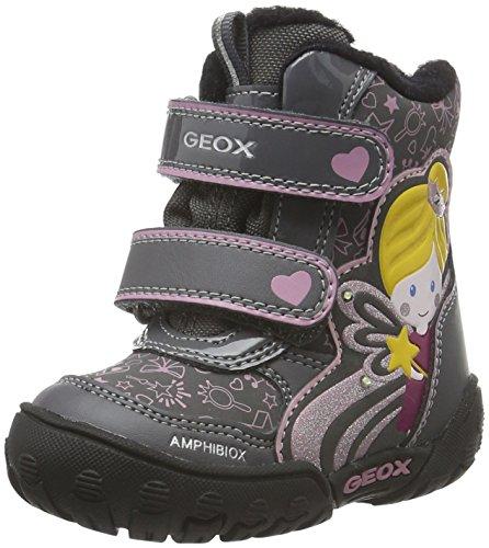Geox B Gulp B Girl Abx B, Botines de Senderismo para Bebés Gris (DK Grey C9002)