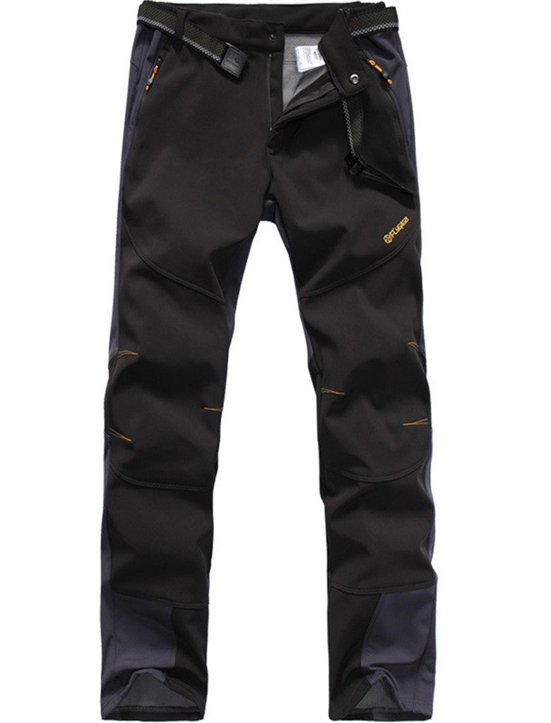 Lakaka Mens Hiking Trousers Waterproof Fleece Lined Breathable Quick Dry Outdoor Climbing Pants Lakaka-EU