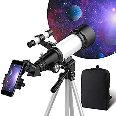 OYS Telescope, Telescopes for Adults, 70mm Aperture 400mm AZ Mount