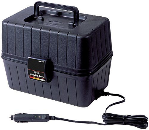 RoadPro 12-Volt Portable Stove, Black (Hot Plate Cart compare prices)