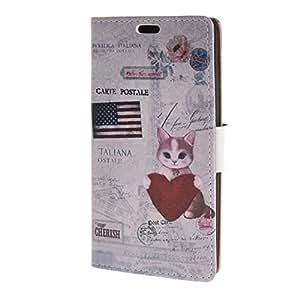 MOONCASE para LG G4 Beat G4S Case Funda Carcasa Cuero Cartera Tapa Case Cover /a01