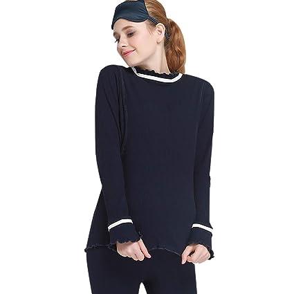 194ed67874 Sleepwear Pajamas Pregnant Women Cotton Nightwear Black Pregnancy Sleepwear  2 Pieces Set Four Seasons Breastfeeding Clothes
