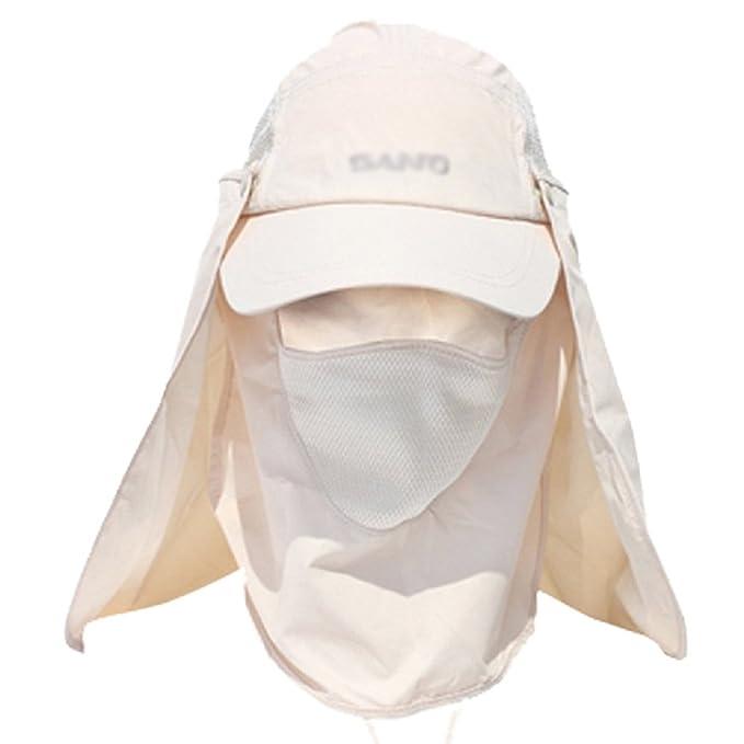 1 opinioni per Gzhouse Men 360gradi, protezione UV del cappello rimovibile con collo e viso