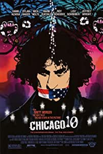 Chicago 10 Movie Poster (27 x 40 Inches - 69cm x 102cm) (2008) -(Hank Azaria)(Dylan Baker)(Abbie Hoffman)(Nick Nolte)(Jerry Rubin)(Mark Ruffalo)