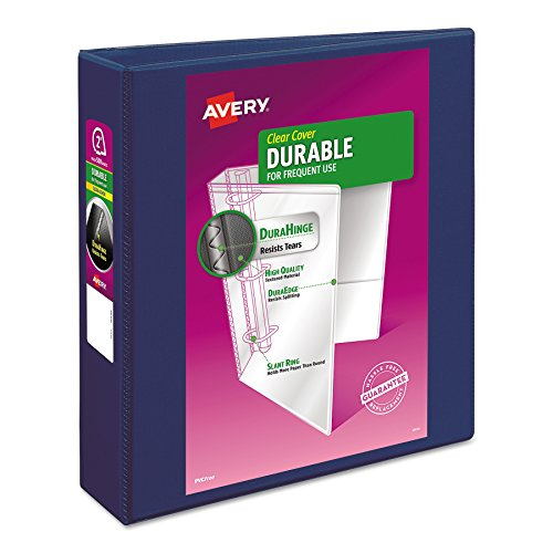 Avery Durable View Binder, Slant Rings, 500-Sheet Capacity, 2